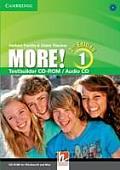 More! Level 1 Testbuilder CD-rom/audio CD