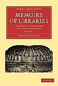 Memoirs of Libraries 3 Volume Set