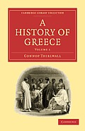 A History of Greece - Volume 1