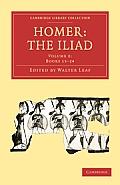Homer, the Iliad (Cambridge Library Collection - Classics)