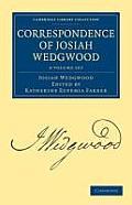 Correspondence of Josiah Wedgwood - 3 Volume Set