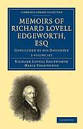 Memoirs of Richard Lovell Edgeworth, Esq - 2 Volume Set