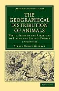 The Geographical Distribution of Animals - Multiple Copy Pack