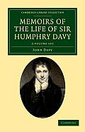 Memoirs of the Life of Sir Humphry Davy - 2 Volume Set