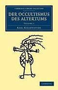 Der Occultismus Des Altertums - Volume 1