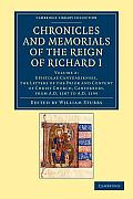 Chronicles and Memorials of the Reign of Richard I - Volume 2
