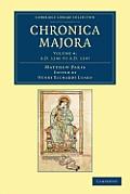 Matthaei Parisiensis Chronica Majora - Volume 4