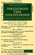 Vorlesungen Uber Zahlentheorie (Cambridge Library Collection - Mathematics)