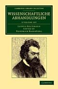 Wissenschaftliche Abhandlungen - 3 Volume Set