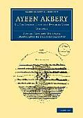 Ayeen Akbery: Volume 2: Or, the Institutes of the Emperor Akber
