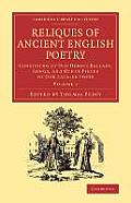 Reliques of Ancient English Poetry - Volume 1