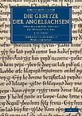 Die Gesetze Der Angelsachsen - 3 Volume Set
