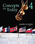 Reading for Today 4: Concepts for Today