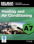 ASE Test Preparation - A7 Heating and Air Conditioning Cover