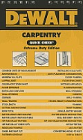 DeWalt Carpentry Quick Check Extreme Duty Edition