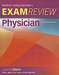 Medical Coding Specialists's Exam Review Physician [With CDROM]