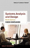 Video Companion DVD for Shelly/Rosenblatt's Systems Analysis and Design, 9th