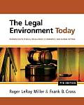 Legal Environment Today (7TH 13 - Old Edition)