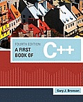 A First Book of C++ Cover