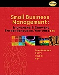 Small Business Management (16TH 12 - Old Edition)