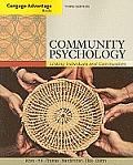 Cengage Advantage; Community Psychology: Linking Individuals and Communities