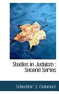 Studies in Judaism: Second Series