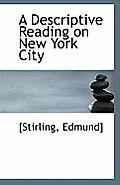 A Descriptive Reading on New York City