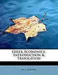Greek Economics, Introduction & Translation