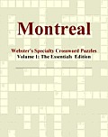 Montreal - Webster's Specialty Crossword Puzzles, Volume 1: The Essentials  Edition