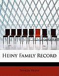 Heiny Family Record
