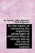 On the Means of Comparing the Respective Advantages of Different Lines of Railway and on the Use of