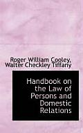 Handbook on the Law of Persons and Domestic Relations