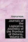 Journals of the Legislative Assembly of the Province of Ontario, Volume XL