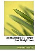 Contributions to the Flora of Siam, Dicotyledones