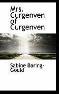 Mrs. Curgenven of Curgenven