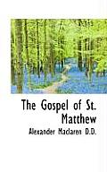 The Gospel of St. Matthew
