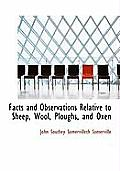Facts and Observations Relative to Sheep, Wool, Ploughs, and Oxen