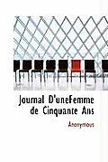 Journal D'Unefemme de Cinquante ANS