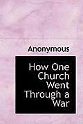 How One Church Went Through a War