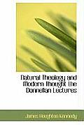 Natural Theology and Modern Thought the Donnellan Lectures