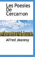 Les Poesies de Cercamon