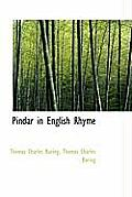 Pindar in English Rhyme