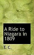 A Ride to Niagara in 1809