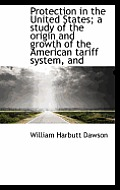 Protection in the United States; A Study of the Origin and Growth of the American Tariff System, and