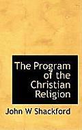 The Program of the Christian Religion
