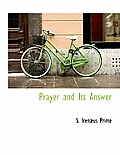 Prayer and Its Answer
