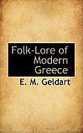 Folk-Lore of Modern Greece