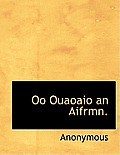 Oo Ouaoaio an Aifrmn.