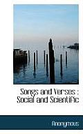 Songs and Verses: Social and Scientific