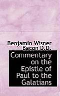 Commentary on the Epistle of Paul to the Galatians